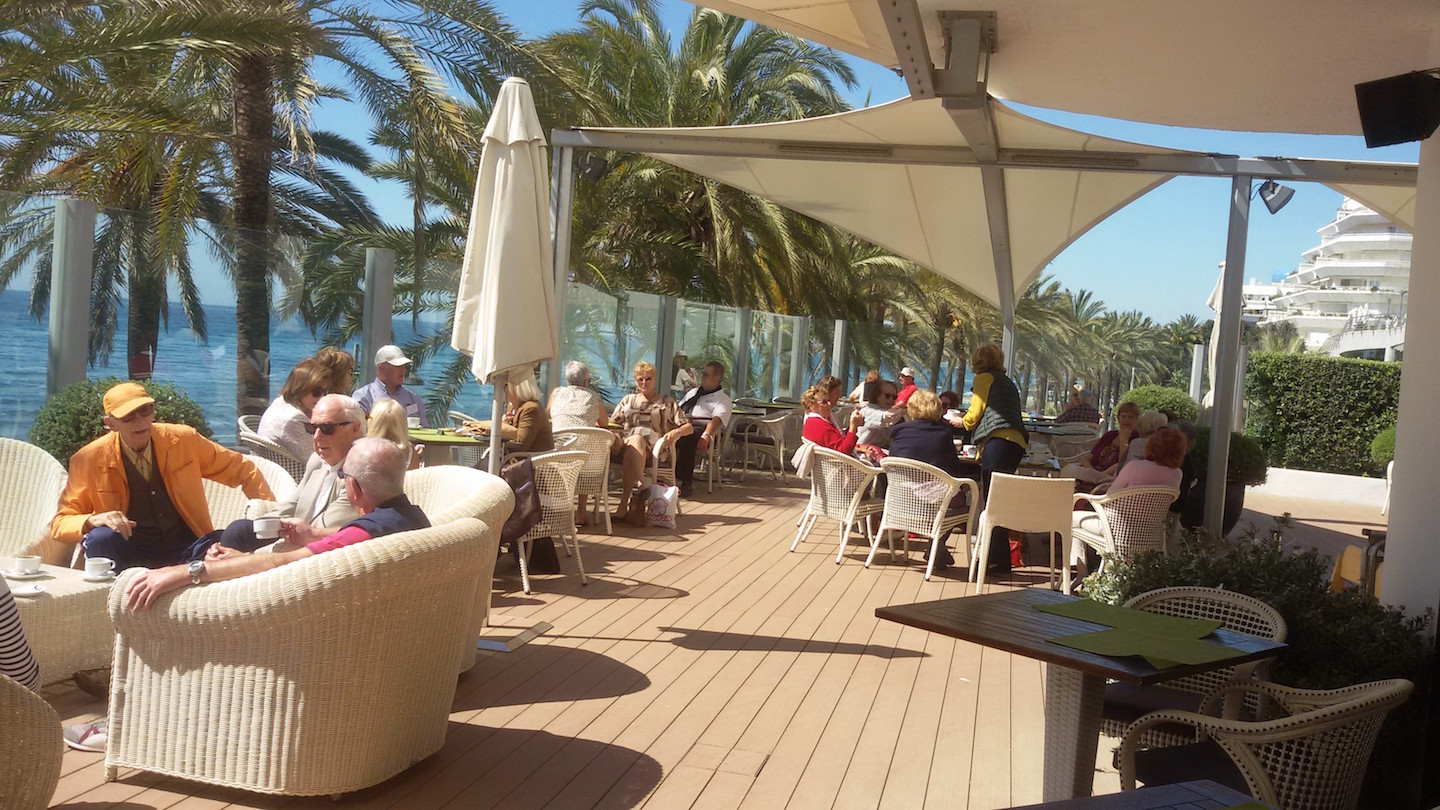 Coffee morning Marbella Spring 2016 mini